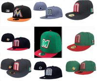 Wholesale football caps for sale for sale - Hot Sale Mexico Fitted Hats For  Men Baseball c967dc5085b