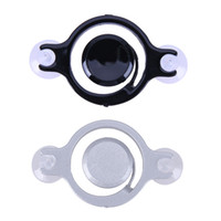Wholesale tablet arcade for sale - Black Smartphone Mini Joysticks Touch Screen Metal Joystick Game Controller Silicone Suction Cup For Phone tablet Arcade Games