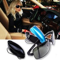 Wholesale car eye visor for sale - Group buy Auto Fastener Car Glasses Holder Auto Vehicle Visor Sunglass Eye Glasses Business Bank Card Ticket Holder Clip Support