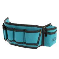 сумка с несколькими карманами оптовых-Multi-Pockets Waist Utility Belt Organizer Bag Tool Slot Screwdriver Carry Case