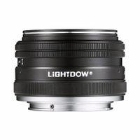 asal mercek toptan satış-A6000 A5100 A5000 A6300 A6500 NEX-3 NEX-3N NEX-5 NEX-5T NEX-5R NEX-6 Sony E Dağı Alpha için Lightdow 35mm F1.7 APS-C Prime Sabit Manuel Lens