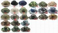 Wholesale combat cap hat resale online - Tactical Mandrake Boonie Hat Kryptek Pattern US Rip stop Cap Hat for Camping Hiking Hunting Rattlesnake Combat Airsoft