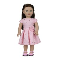 Wholesale newborn clothes china - cute baby reborn vinyl 18 inch 45cm baby girl craft real cloth clothes American dream baby dolls supplier