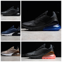 Wholesale stone cushions - High Quality New Arrival Air Cushion 270 shoes Mens Women Running Shoes Dusty Cactus White Black Red Sepia Stone Sneakers AH8050