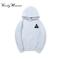 Wholesale Mens Hoodie Tops - 2018Autumn Men Hoodies Letter Sweatshirts Mens Hoodie With Hat Hoody Big Pocket Hip Hop Hooded Hood Pullover Top Male SizeS-3XL