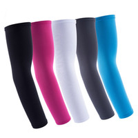 Wholesale golf sun sleeves for sale - Group buy Cycling Arm Sleeves UV Sun Protection Cover for Sports Golf Fishing Running Elbow Arm Warmers Bicycle Fitness Arm Guard Women Men Warmers