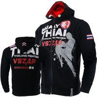 cajas de liquidación al por mayor-VSZAP MUAY THAI THAI boxeo MMA aptitud lucha cremallera chaleco chaleco de combate de transmisión para wulin viento