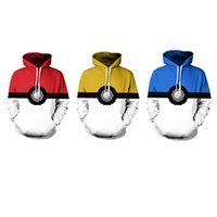 Wholesale yellow sweaters for women - Youthcare Hoodie for Men and Women 3D printed Creative Ball Hoodie Oversize Pullover Long sleeve tops Sweater