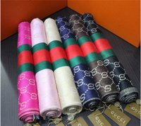 Wholesale Autumn Threads - Autumn and winter brand female cashmere scarf fashionable classic cashmere scarf gold thread blended cashmere scarf.