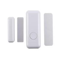 Wholesale Sirens Home - Home Security Door Window Siren Magnetic Sensor Alarm Warning System Wireless Remote Control Door Detector Burglar Alarm