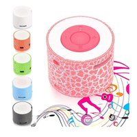 Wholesale LED Portable Mini Speakers mp3 player Wireless Hands Free Speaker With TF slot speaker Hand free Subwoofer Loudspeakers high quality
