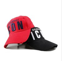 Wholesale Couple Skateboard - Top quality ICON embroidered Letters hat baseball cap casual sun hat men adjustable snapback cap hip-hop hat skateboard couple Ball caps