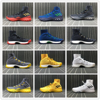 Wholesale pc mid - 2018 Hot Crazy Explosive PK High Boost Wiggins LasVegas Latvia Basketball Shoes Game Sports Sneakers Size 40-45