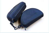 Wholesale box case aa for sale - AA Zipper case box for Sunglasses Box Compression Glasses Case Black Sports sun glasses case box