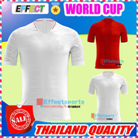 Wholesale Flashing Cups - TOP Thailand 2018 ROONEY World Cup Jersey KANE BARKLEY STURRIDGE STERLING HENDERSON VARDY HART ALI Home White Away Football Shirts