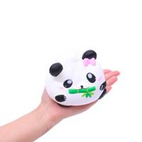 ingrosso regali della novità del panda-Cute Panda Decor Slow Rising Kid Spremere alleviare Anxiet Regalo Giocattoli squishy Cartoon squish giocattoli spremere Novità Antistress regalo