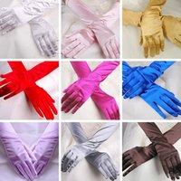 guantes largos de sol al por mayor-Halloween Guante de Navidad Masquerade Cosplay mitones guantes de cinco dedos guantes de protección solar props de rendimiento decoración del partido GGA877