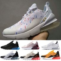 Wholesale rounded sole shoes for sale - 2018 high quality Mens Triple Black AH8050 Trainer Sports Shoes Womens sole air Sneakers