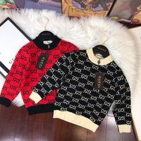Wholesale baby girl korean dress cute resale online - Baby Kids Clothing Winter Girls Children Dresses Sweater Korean Children s Garment Rendering Round Neck Pullover In Will Knitting