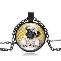 Wholesale animal rescue for sale - Group buy 60PCS Bago Dog Necklace American Pitbull Terrier Pet Puppy Rescue Pendant Bulldog Jewelry for Animal Lover Accessories