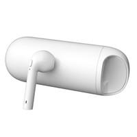 Wholesale single wired headphones for sale - HBQ i9 Single Mini Wireless Bluetooth Headphones Earphone HIFI Stereo Noise Sports Earbuds with Charging Box mAh Powerbank