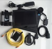 usado ecu venda por atacado-DHL Livre 2019 novo profissional auto scanner para B / MW icom próximo + B + C 3 em 1 com ssd e Laptop x201t usado