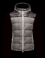 Wholesale French Parka - French Brand anorak men winter vest gillets UK popular gilets Jacket Body Warmer Man Down and parka anorak vest
