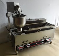 Wholesale Automatic electric gas heating Donut Making Machine Commercial Auto Doughnut Donut Maker Machine Auto Donuts Frying maker