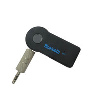 usb bluetooth audioempfänger 3.5mm großhandel-Bluetooth-Auto-Adapter-Empfänger 3,5 mm Aux-Stereo-Wireless-USB-Mini-Bluetooth-Audiomusik-Empfänger für Smartphone MP3