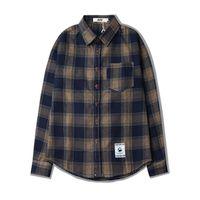 86df90526d0 Wholesale checkered dresses for sale - Plaid Men s Long Sleeved Shirts Pure  Cotton Casual Plaid