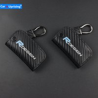 Wholesale volvo remote key case resale online - carbon fiber cloth Car Remote Key Case Shell Cover Car Styling Key Cover For volvo xc60 xc90 v60 s60 c70 v40 Car accessories