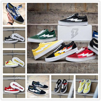 zapatillas sneakers venda por atacado-2018 Chegam Novas Vingança X Tempestade Skool Canvas Designer de Tênis Para As Mulheres Dos Homens de Skate Branco Preto Sapatos Casuais zapatillas de deporte Chaussure