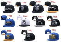 Wholesale cartoon hats for sale - 2018 New Arrived Snapback Basketball Caps The Town Wordmar Snapbacks Hats USA College Cartoon Logo Adjustable Caps Fashion Hip Hop For Sale