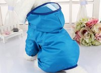 Wholesale Rain Dogs - Dog Clothes for Dogs Raincoat Waterproof Overalls Goods for Pets Poncho Rain Umbrella Coats for Chihuahua
