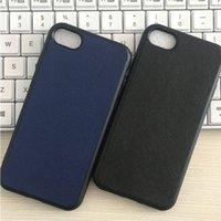Wholesale cross iphone covers - Luxury Cross Pattern Case TPU Leather Lagging Back Cover Shockproof for iPhone X 8 7 6 6S Plus OPP Aicoo