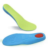 absorbente de zapatos al por mayor-Zapatilla para niños zapatilla deportiva plantilla para absorber el sudor primavera otoño arco soporte completo almohadilla niños niñas plantillas