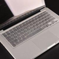 teclado macbook à prova d'água venda por atacado-Teclado à prova d 'água tampa da pele para macbook protetor uk ue eua versão tpu tansparent para macbook pro / retta 13