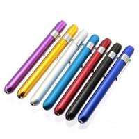 commander des lumières led achat en gros de-Lampe de poche stylo d'urgence Première lampe de poche jaune stylo Pas de piles rechargeables Commande d'essai de résistance à la pression durable 2 6qg dd