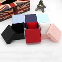packungsarmbänder großhandel-Dauerhafte Präsentationsgeschenk-Kasten-Kasten für Armband-Armband-Schmuck-Armbanduhr-Kasten-Papier-Uhr-Schmucksache-Paket-Kasten