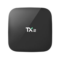 Wholesale Cheapest Wholesalers Uk - 2018 Cheapest 2GB 16GB Android 6.0 TV BOX TX2 R1 R2 Rockchip RK3229 H.265 4K WiFi Bluetooth Media Player IPTV Boxes