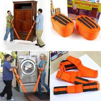 transportpakete großhandel-Schlussverkauf ! Bewegliche Gurte Unterarm-Lieferungs-Transport-Seil-Gurt-Haus-tragen Einrichtungsgegenstände einfacheres 1pair / lot mit OPP-Paket