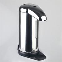 ingrosso sapone automatico del sensore dell'acciaio inossidabile-Dispenser di sapone liquido di induzione automatica dell'acciaio inossidabile dell'erogatore dei saponi dei sensori a infrarossi per il bagno della cucina 23mx C R