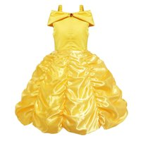 Wholesale cosplay costumes beauty beast resale online - Girl s Dresses Halloween Bell Princess Dress Beauty and Beast Girl Princess Dress Foreign Trade Cosplay Costume