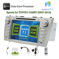 Wholesale android tv for camry for sale - 8 quot Car DVD Player Android Octa core GB GB Autoradio Double Din Car Stereo Head Unit for TOYOTA CAMRY Bluetooth Mirror Link SWC