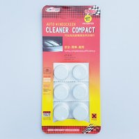 Wholesale 6pcs pack Car Solid Wiper Fine Seminoma Wiper Car Auto Window Cleaning Car Windshield Glass Cleaner