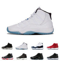 meilleures chaussures haute coupe achat en gros de-Chaussures de basket-ball pour hommes J11 Xi Cheap Best 11s Gym Rouge Chicago Midnight Navy Gagner comme 82 Unc Space Jam 45 11s Athletic Sport Sneakers High Cut