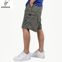 Wholesale beach works clothing for sale - WEONEDREAM Mens Cargo Shorts Causal Fashion Beach Shorts for Men Loose Multi Pockets Work Plus Size xl Men s Clothing