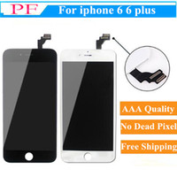 Wholesale iphone 6 for sale – best High Brightness LCD For iPhone Plus Grade A Display Digitizer screen No Dead Pixels test one by one