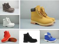 laços de caminhada vermelha venda por atacado-Free shopping mens mulheres inverno botas de castanha preto branco vermelho verde casual Martin botas de caminhada sapatos de desporto botas designer de tamanho 5.5-12