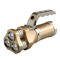 kraftvolle lampen großhandel-Leistungsstarke Tragbare LED Taschenlampe 3 CREE Q5 1000LM 5 Modi Taschenlampe Tier Camping Jagd Lampe